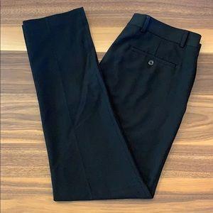 Louis Raphael - Tailored Fit Black Slacks - 34x32